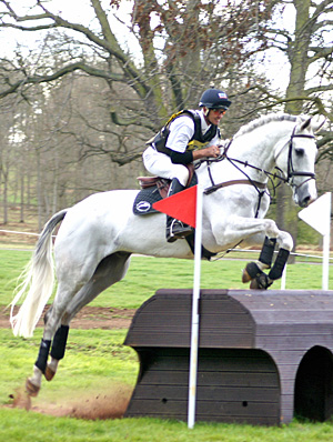 London 2012 team bronze medalist Andrew Nicholson, who rode Mr Cruise Control to victory in the 3* class at Hartpury last year.