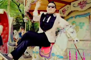 Korean pop star Psy may have increased the popularity of the carousel.