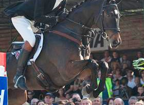 William Fox-Pitt and his London 2012 Olympic horse, Lionheart.