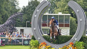 Burghley Horse Trials Cross Country In Pictures