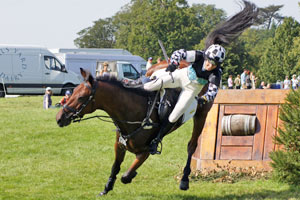 Researchers have questioned whether the equestrian community is too accepting of riding mishaps. © Mike Bain