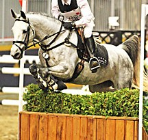 Waylon Roberts and Evil Munchkin will defend their Good Crop Services Indoor Eventing Challenge title again this year.