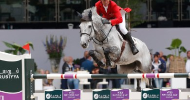 Ludger Beerbaum clinched victory for Germany with a thrilling last-to-go round riding Chiara at the Nations Cup Europe Division 1 qualifier in Rotterdam, The Netherlands on Friday.
