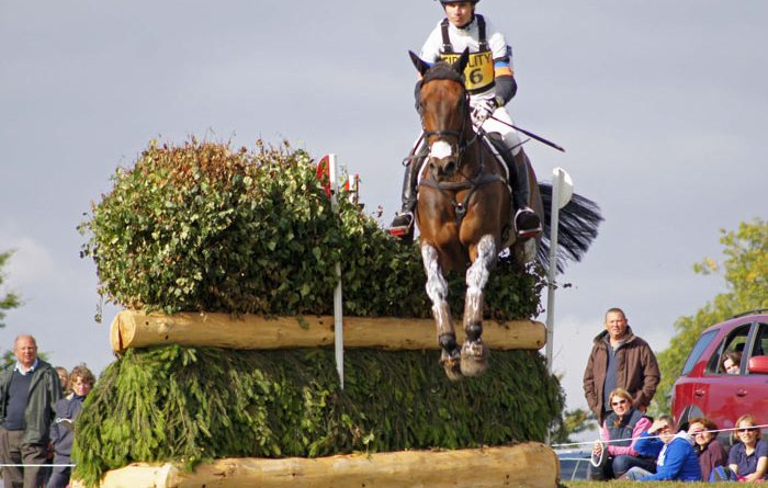 Francis Whittington (GBR) on Fernhill Highlight