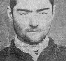 Ned Kelly, pictured in 1874.