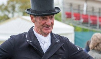 Mark Todd after his ride on NZB Campino.