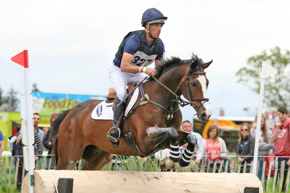 Tim Price and Wesko on their way to winning the George Mernagh Memorial CIC*** at Ireland's Tattersalls Horse Trials.