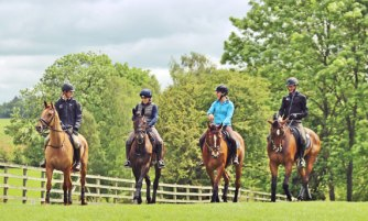 William Fox Pitt and Freddie Mac, Pippa Funnell and Or Noir De La Loge, Tina Cook and Star Witness, and Mark Todd and Amacuzzi.