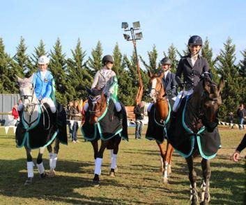 The winning Australian YR team.