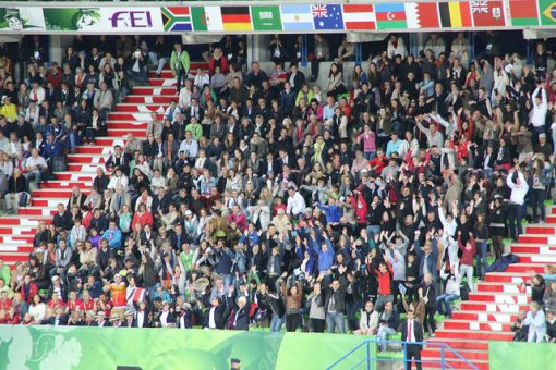 About 21,000 spectators were treated to an amazing Opening Ceremony.
