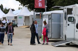 In the Games Village, there is lots to spend your money on, from transport to saddlecloths