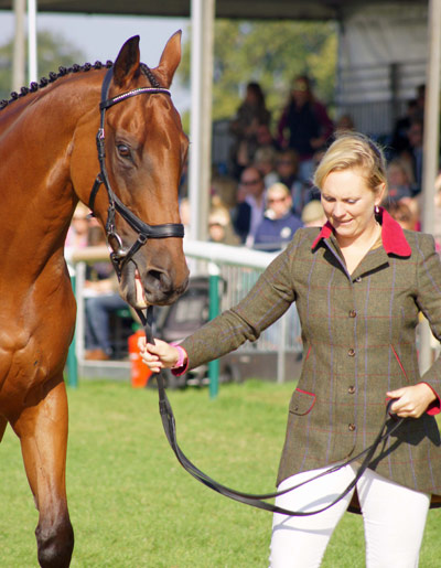 Gemma Tattersall with Arctic Soul (GBR)