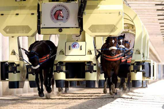 Space-age racehorse training is coming to Britain.