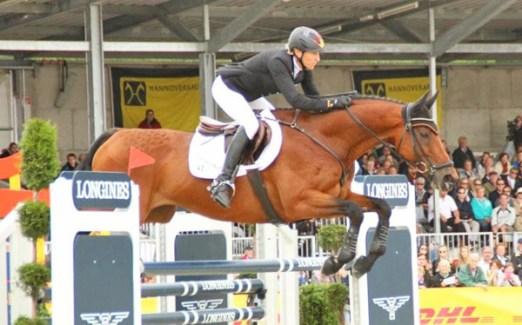 Ingrid Klimke and Horseware Hale Bob finished in second place.