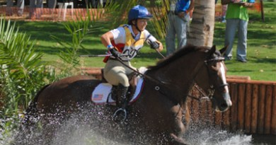 Eventing at Brazil's National Equestrian Centre in Deodoro.