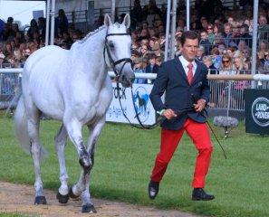 Cedric Lyard (FRA) with Cadeau du Roi