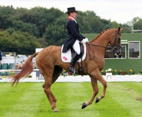 5th=: Oliver Townend (GBR) and Armada