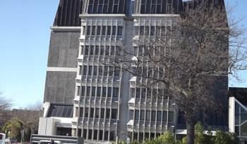 The Christchurch court building.