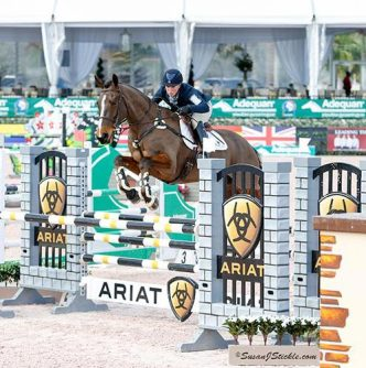 Colleen Rutledge and Covert Rights had no faults in the stadium jumping phase to set them up for a second place finish