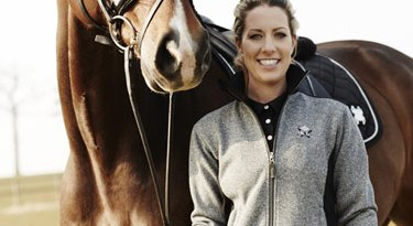 Equestrian chic: Charlotte Dujardin's Kingsland Equestrian collection is being launched at the end of February 2016.