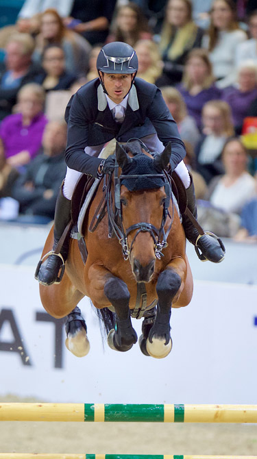 London 2012 Olympic champion and defending World Cup Jumping champion Steve Guerdat and Corbinian heads the overall standings going into Monday's Final in Gothenburg.