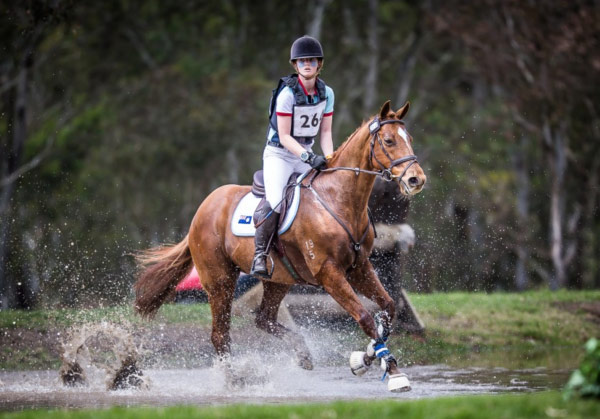 Australian rider Olivia Inglis died at the age of 17 after a cross-country fall in 2016.