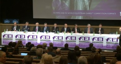 Discipline chairmen talk Olympic and FEI competition formats at the FEI Sports Forum today.