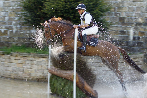 Andrew Nicholson and Teseo, winners of the Advanced Section D class.