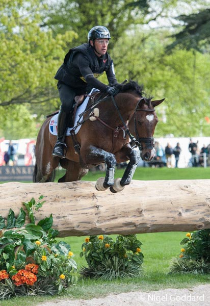 Arnaud Biteau and Quoriano won the CIC***, Section C at Chatsworth at the weekend.