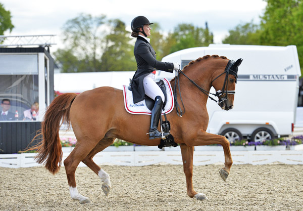Cathrine Dufour's double of victories with Attergaards Cassidy provedpivotal to Denmark's success at the second leg of the FEI Nations Cup Dressage 2016 series at Odense on Sunday.