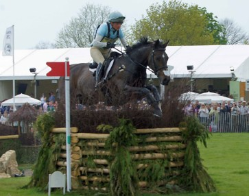 Izzy Taylor (GBR) on Allercombe Blue