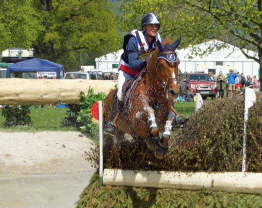 Karim Laghouag (FRA) and Punch De L'Esques, 6th in CIC3* Section B.