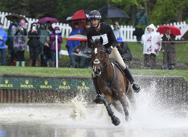 Mark Todd and NZB Campino are the best placed New Zealand combination at the Rolex Kentucky Three-Day-Event, in 12th place.