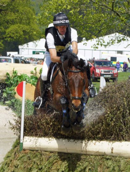 Mark Todd (NZL) and Obos Colombus, 32nd in the CIC3* Section B.