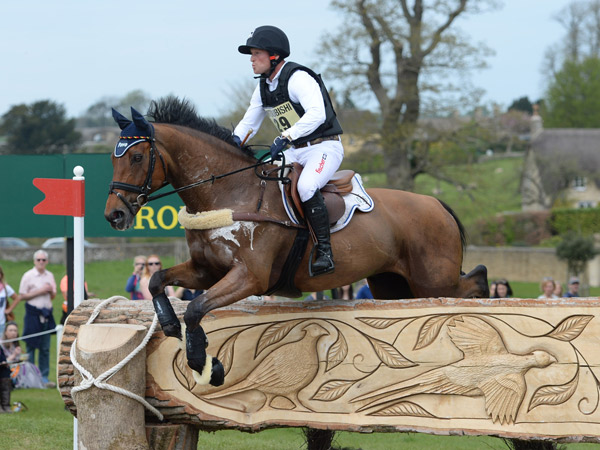 Michael Jung (GER) and La Biosthetique Sam FBW set up a nine-penalty lead after Cross Country at the Mitsubishi Motors Badminton Horse Trials.