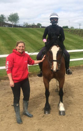 Jeni Douglas has created EventFit, to help riders reach peak fitness.