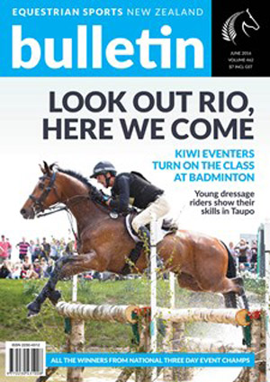 The June issue of the Bulletin will be the last. It will feature Sir Mark Todd on the cover.