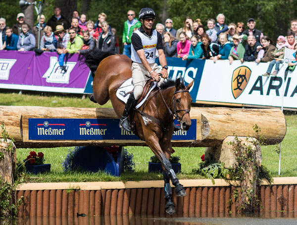 New Zealand's Andrew Nicholson and Qwanza are among the main contenders at this weekend's Luhmühlen CCI4*, fourth leg of the FEI Classics.