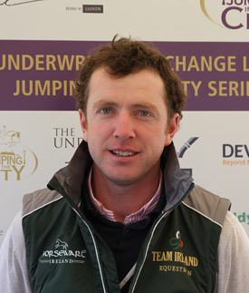 Greg Broderick's consistent recent form has earned him Ireland's sole Rio showjumping spot.