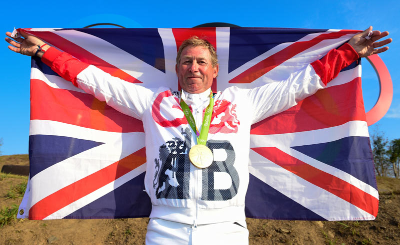Britain's Rio 2016 Olympic jumping gold medalist Nick Skelton.