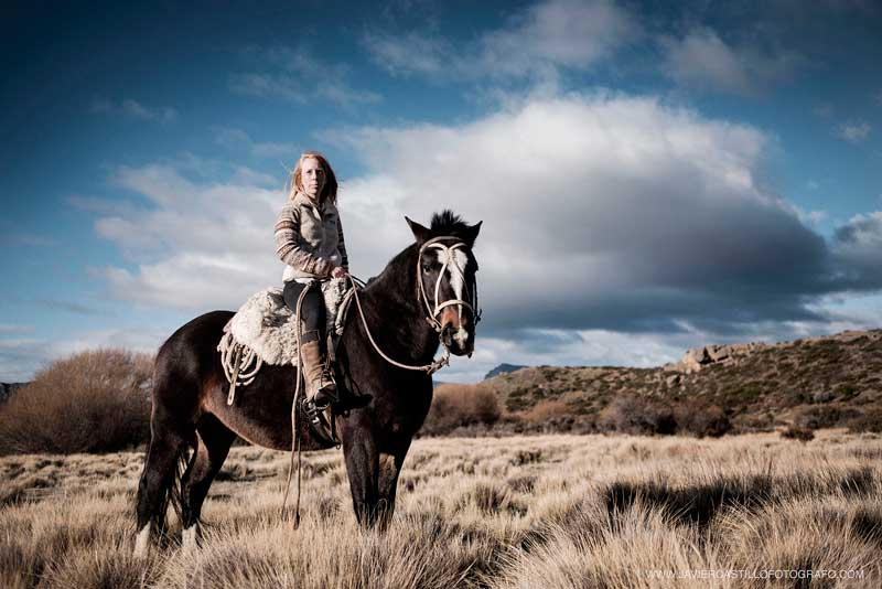 "Stevie Anna Plummer: ""As a former West Texas rodeo kid, it's safe to say that I've spent more days with horses in my life than without."" Photo: Javier Castillo"