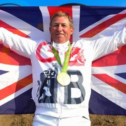 Britain's Rio 2016 Olympic  jumping gold medalist Nick Skelton. © Hippo Foto - Dirk Caremans