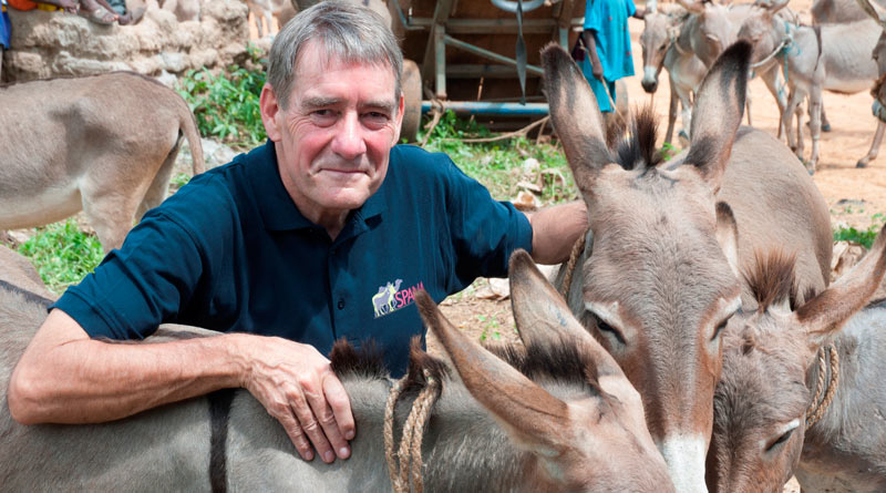 """Spana chief executive Geoffrey Dennis: """"The sad reality is that, in many developing countries, there simply aren't enough vets to treat the vast numbers of animals that need assistance."""""""