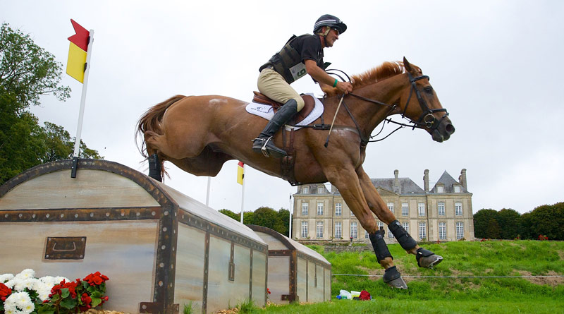 Andrew Nicholson and Nereo at the 2014 World Equestrian Games.