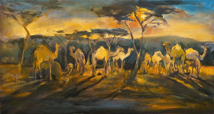 A work by Sophie Walbeoffe.