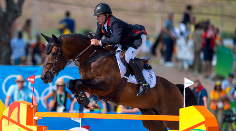 Nick Skelton and Big Star on their way to winning individual gold at the Rio Olympics in 2016.