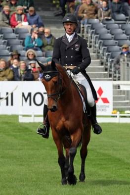 Andrew Nicholson (NZL) and Qwanza.