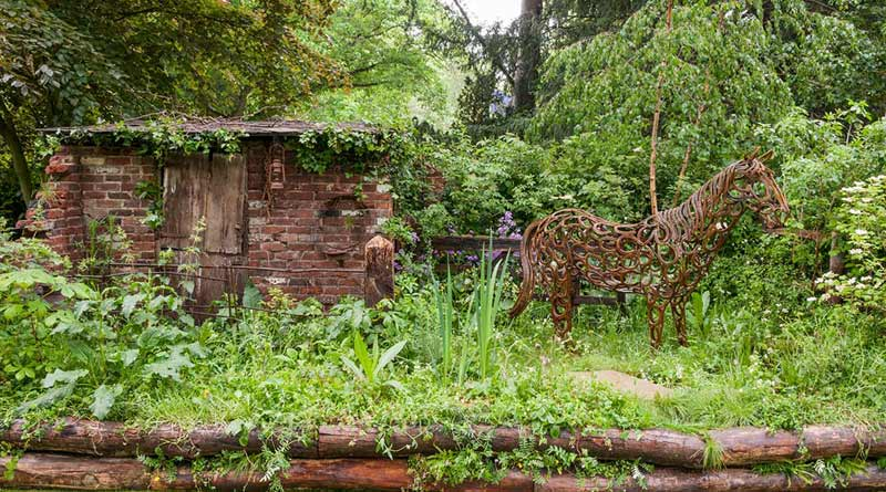 World Horse Welfare's Chelsea Garden Show entry has won a gold medal in the Artisan Garden category.