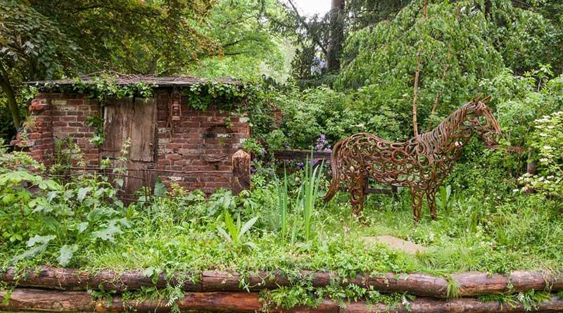 World Horse Welfare's Chelsea Garden Show entry has won a gold medal in the Artisan Garden category.