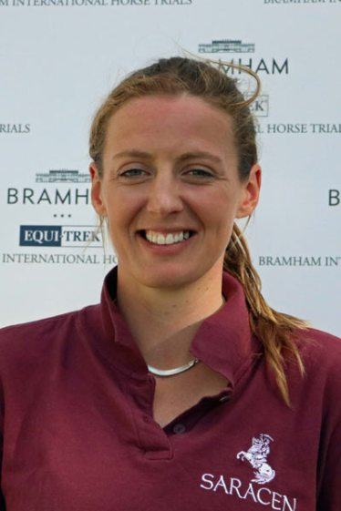 Flora Harris, 4th overall in the CIC3*.
